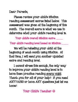iStation Parent Note