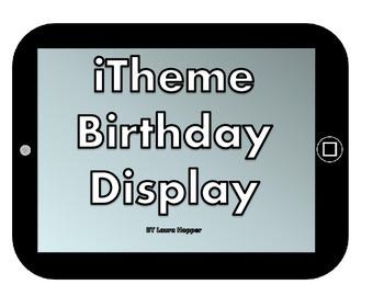 iTheme Birthday Display