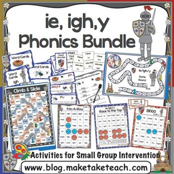 ie igh y Activities - the Big Phonics Bundle