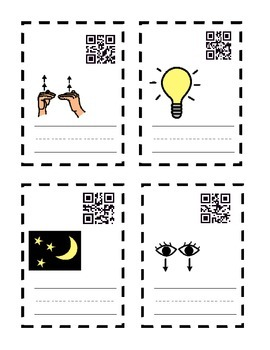 igh ie Spelling QR Task Cards