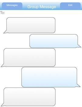 imessage, practice basic conversations (English version)