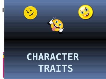 introduction to character traits