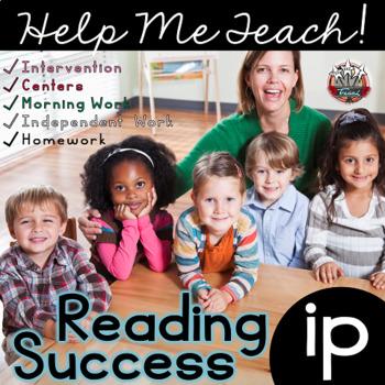 ip Word Family: Intervention, Homework, Morning Work, Centers,