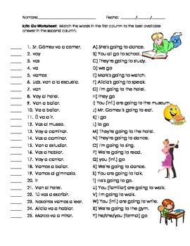 ir a worksheet