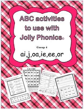 jolly phonics 4