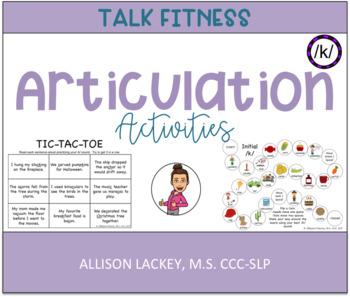 /k/ Articulation Activities