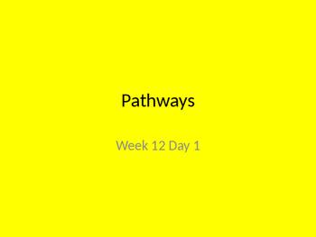 kindergarten Pathways to Reading powerpoint Day 1 letter Tt