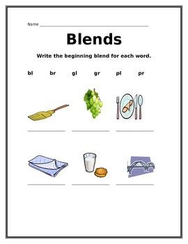 kindergarten blends