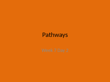 kindergarten pathways to Reading powerpoint Day 2 Letter Pp
