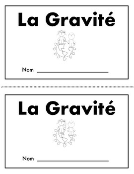 la Gravité  (un livre de science)