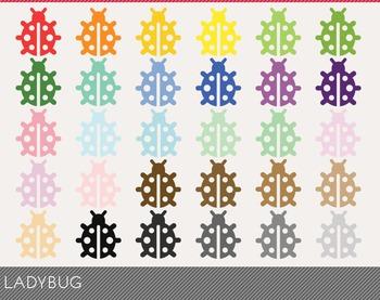 ladybug Digital Clipart, ladybug Graphics, ladybug PNG, Ra