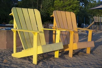 Large Adirondack Chairs - for Personal and Commercial Use