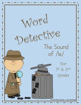 Word Detective ~ le Sound Activities