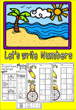 let's write numbers.