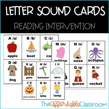 letter sound cards dyslexia cards SPIRE reading method cards