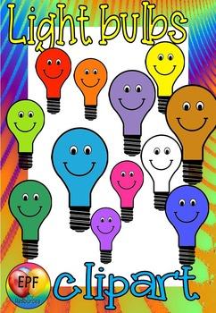 light bulbs clip art