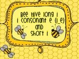 long i and short i bee hive mini unit