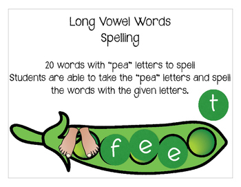 long vowel activity
