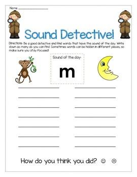 m sound Write The Room Worksheet
