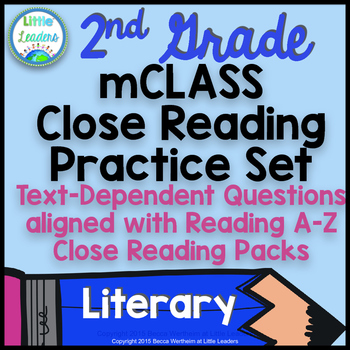 mCLASS TRC Practice for Reading A-Z Close Reading Packs- 2