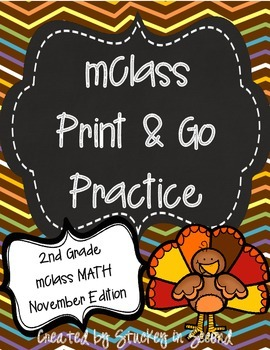 mClass Math PRINT AND GO Practice-2nd Grade-NOVEMBER Edition