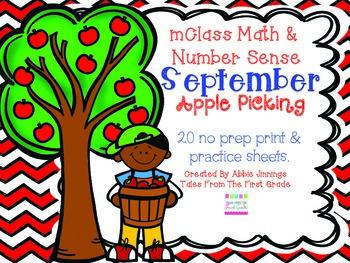 mClass Math and Number Sense September Apple Picking