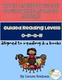 Written Comprehension Questions levels O-P-Q-R