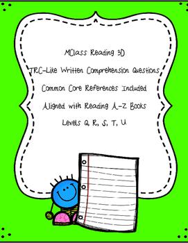 mClass Reading 3D TRC Writing Prompt Practice using Readin