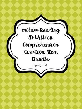 mClass Reading 3D Written Comprehension Question Stem 3-in