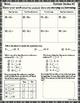 Math 3rd grade summer review packet freebie