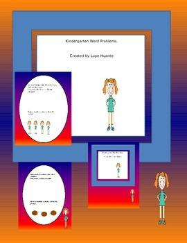 Kindergarten Math Word Problems
