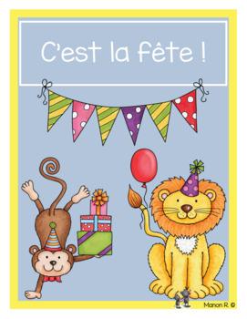 mathématique et français sur le thème de l'anniversaire