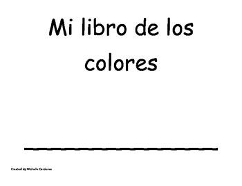 mi libro de los colores- Brown Bear Color Book