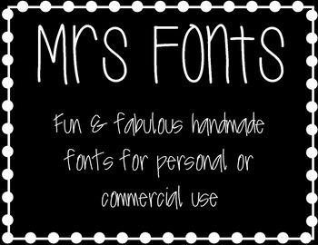 mrs fonts