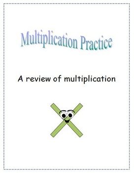 multiplication review task cards