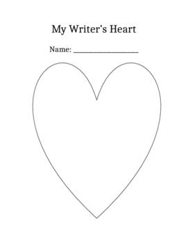 my writer's heart