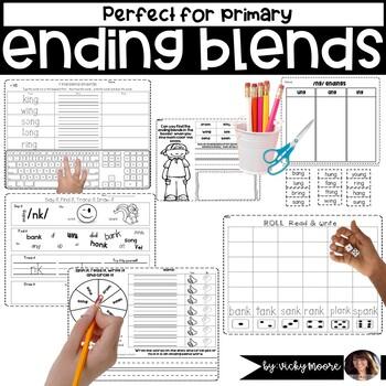 Ending blends /nd/ /ng/ /nk/
