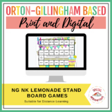 ng and nk Welded Sounds Board Game and Sort (Lemonade Stan