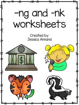 ng or nk worksheets and activities
