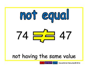 not equal/no igual prim 2-way blue/verde