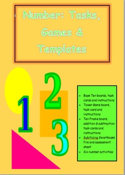 number games, tasks and templates
