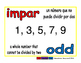 odd/impar prim 1-way blue/rojo