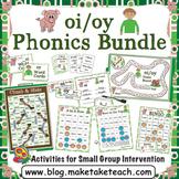 oi oy Activities - The Big Phonics Bundle