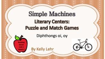 oi & oy Literacy Centers - Reading Street Unit 5 Week 4 -