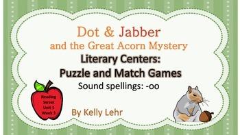 """oo"" /u/ Literacy Centers - Reading Street Unit 5 Week 3 -"