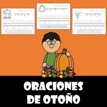oraciones del otono (Fall sentences-Spanish)