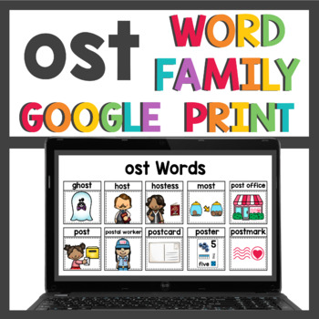 ost Word Family