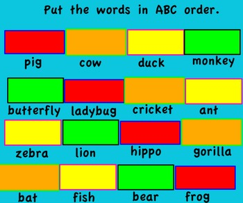 Promethean Board-ou, ow words flipchart. Dot and Jabber Tr