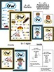 ow Phonogram Books & Poster Packs with Phonics Practice Pages
