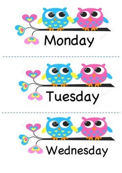 owl days of the week